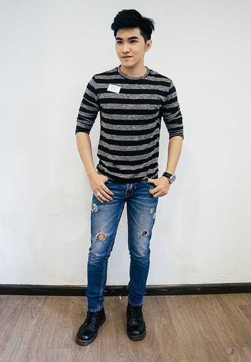 Nguyễn Cao An, gương mặt nam triển vọng trong buổi tuyển chọn