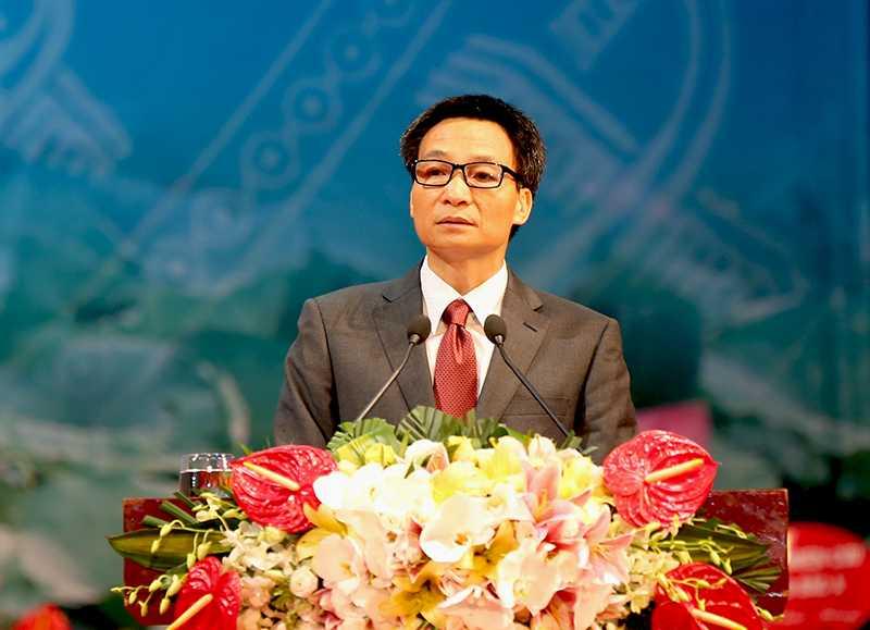 Phó Thủ tướng Vũ Đức Đam nhấn mạnh vai trò quan trọng của khoa học xã hội và nhân văn trong phát huy, phát triển văn hóa và con người Việt Nam.