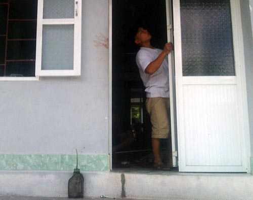 Ngôi nhà xảy ra vụ việc