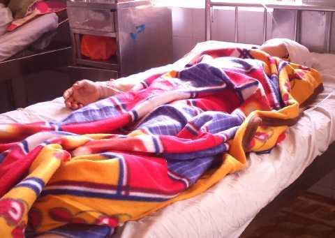 ChịHạnh đang được điều trị tại bệnh viện, hiện đã qua cơn nguy kịch