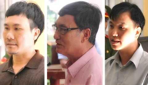 3 bị cáo lãnh án