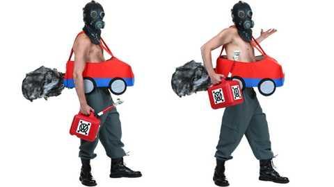 Bộ đồ hóa trang Halloween ăn theoscandal khí thải của Volkswagen