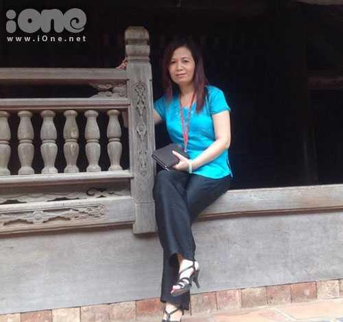 Cô Kiều Vinh được nhận xét là cô giáo cá tính, cô giáo hiện đại (Ảnh: NVCC)