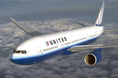 Máy bay của hãng hàng không United Airlines