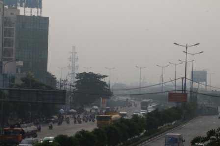 Hiện tượng mù khô sẽ giảm dần trong vài ngày tới.