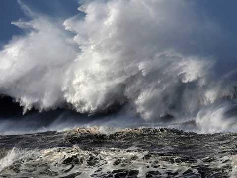 Siêu sóng thần có khả năng nhấn chìm một vùng đất rộng lớn