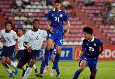 U19 Thái Lan vượt qua Quần đảo Bắc Mariana 7-0.