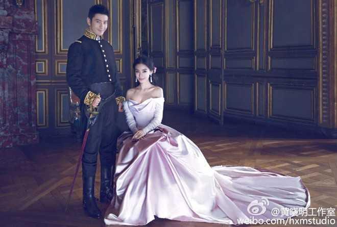 Huỳnh Hiểu Minh sinh năm 1977, hơn cô dâu xinh đẹp của anh 12 tuổi.