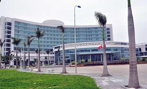 Bệnh viện Ung thư Đà Nẵng được xây dựng từ nguồn vận động tài trợ của các tổ chức cá nhân