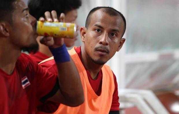 Adul Lasoh rời đội tuyển Thái Lan
