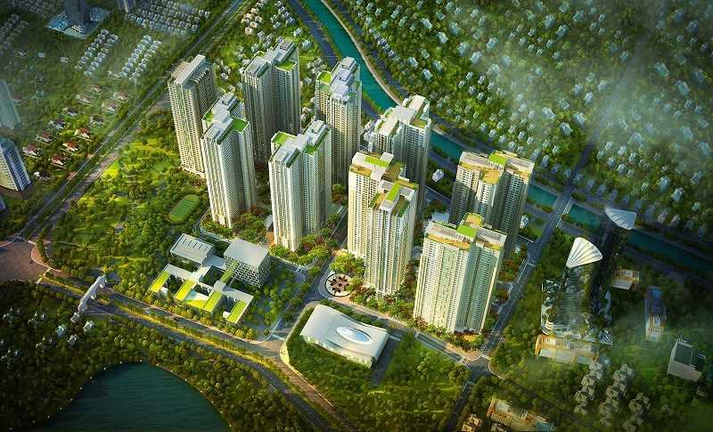 Khu vực phía Tây Hà Nội ngày càng thu hút người mua nhà nhờ hạ tầng phát triển.