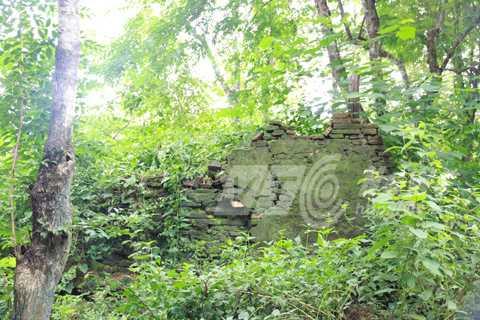 Dấu tích ngôi chùa cổ bên tháp Mường Luân