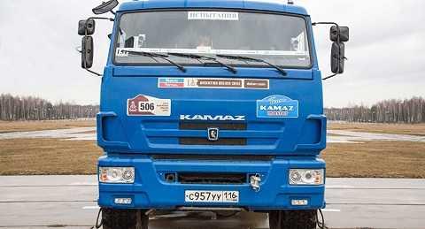 Xe tải KamAZ 'không người lái'