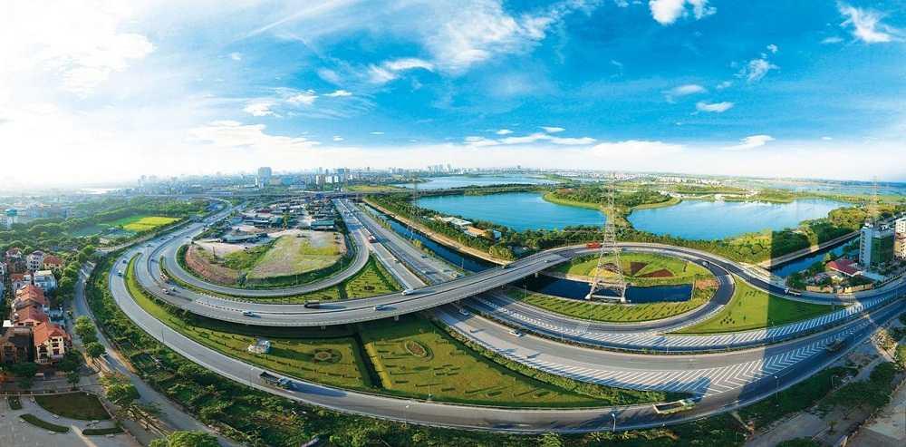 Vị trí thuận lợi, kết nối giao thông dễ dàng là một trong những lợi điểm giúp thị trường biệt thự, liền kề tại Hà Nội tăng trưởng.
