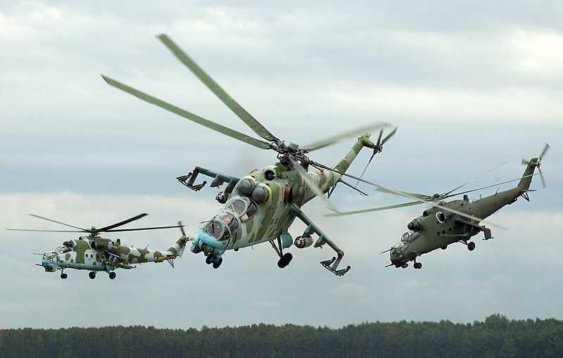 Trực thăng tấn công Mi-24 của Nga