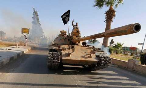 Các tay súng thuộc tổ chức IS