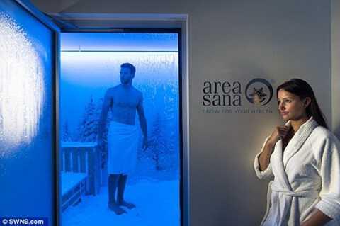 Để xây dựng một căn phòng băng tuyết trong nhà, khách hàng phải trả khoảng hơn 6 tỷ đồng.