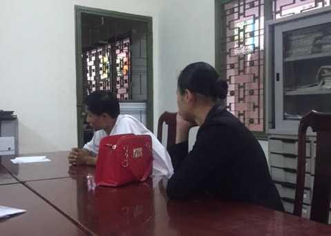 Hai đối tượng mạo danh bị bắt giữ tại cơ quan công an