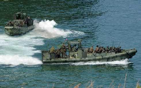 Thủy quân lục chiến Mỹ và Philippines
