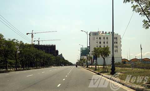 Khu vực đất tại tuyến đường Võ Nguyên Giáp được Đà Nẵng đưa vào khu vực đặc biệt quan trọng và nhạy cảm