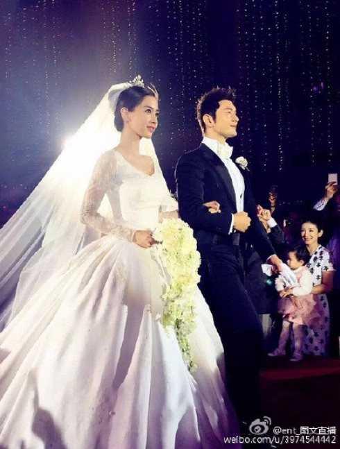 Huỳnh Hiểu Minh chính thức bên vợ.