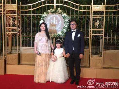 Gia đình MC Lý Trương, nhạc sỹ Vương Nhạc Luân.