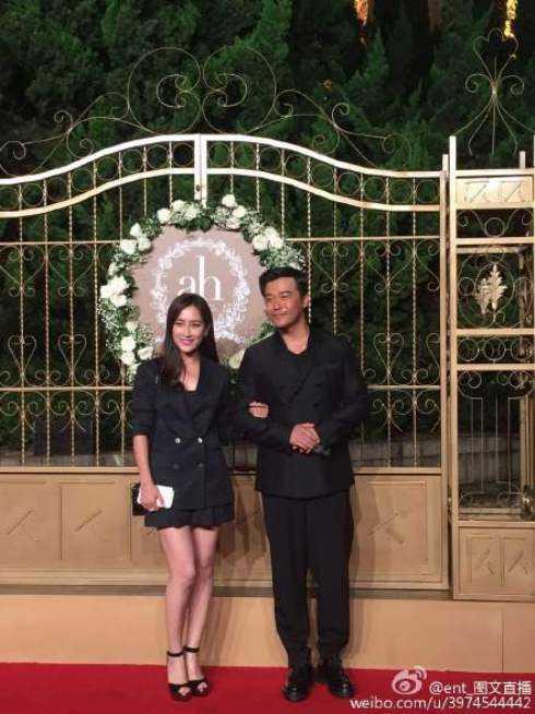Nam diễn viên Trần Tư Thành đến cùng nữ diễn viên Mã Tô chứ không phải bà xã Đồng Lệ Á.