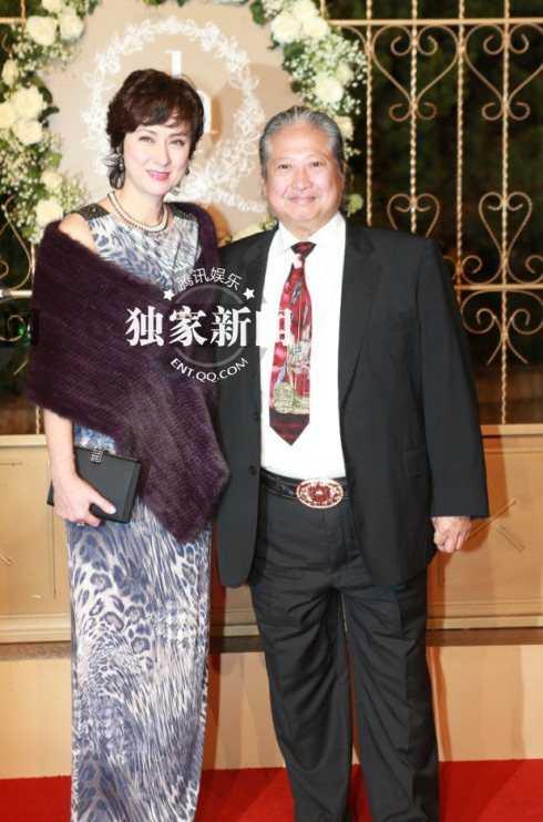 Vợ chồng Hồng Kim Bảo.