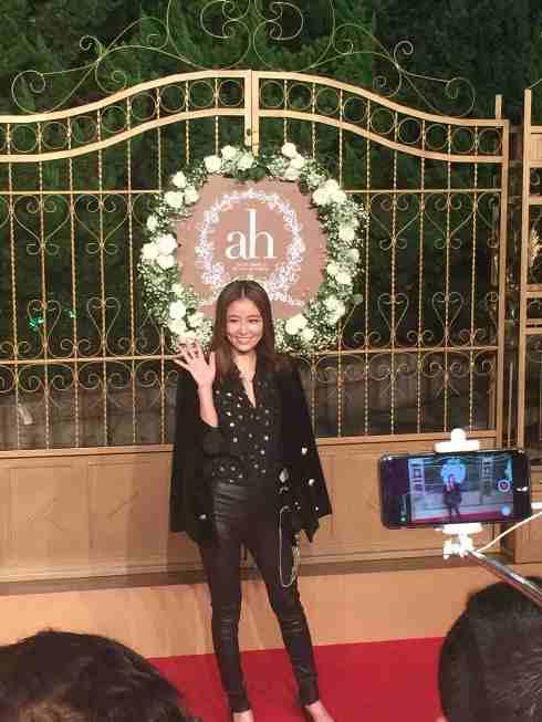 Nữ diễn viên Lâm Tâm Như.