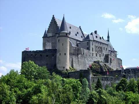 Lâu đài Vianden, Luxembourg