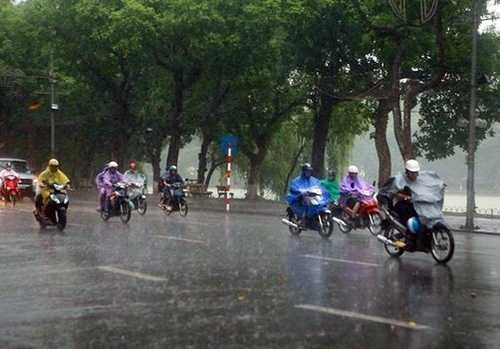 Thủ đô Hà Nội có mưa, nhiệt độ giảm xuống thấp nhất 18oC - Ảnh minh họa