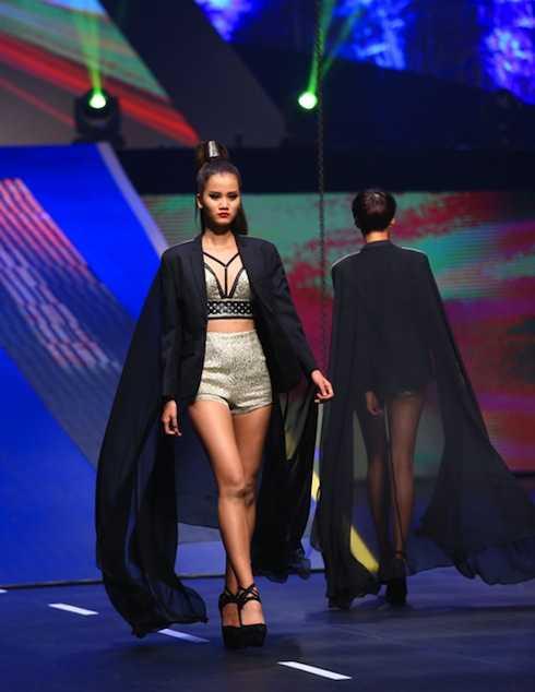Hương Ly giành ngôi Quán quân Vietnam's Next Top Model 2015  (ảnh: Ngôi sao)