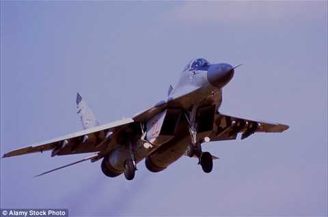 Chiến đấu cơ Mig-29 của không quân Nga