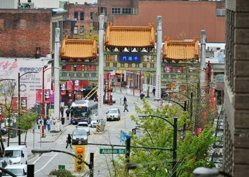 Khu phố Trung Quốc tại Vancouver. Ảnh: Bloomberg