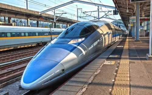 Shinkansen hiện được coi là phương tiện giao thông đứng đầu thế giới về sự an toàn, đúng giờ và hiệu quả - Ảnh: Japan Times.