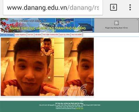 Từ chiều qua cho đến sáng nay (11/10), website của Sở GD-ĐT TP Đà Nẵng có tên miền https://danang.edu.vn đã bị hacker tấn công và chiếm quyền quản trị