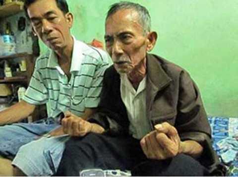 Ông Nguyễn Văn Mừng khỏe mạnh sau khi rút ống thở.