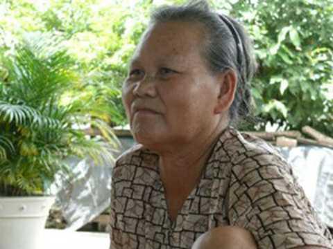 Cụ bà Nguyễn Thị Dí với hiện tượng chết đi sống lại ly kỳ. (Ảnh Zing)