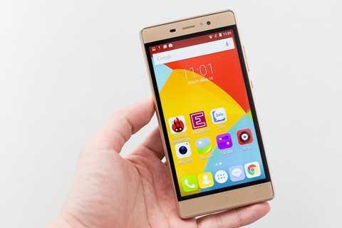 Massgo Vi5 sở hữu màn hình 5 inch HD Full Lamination 2.5D sắc nét, độ rộng 5 inch