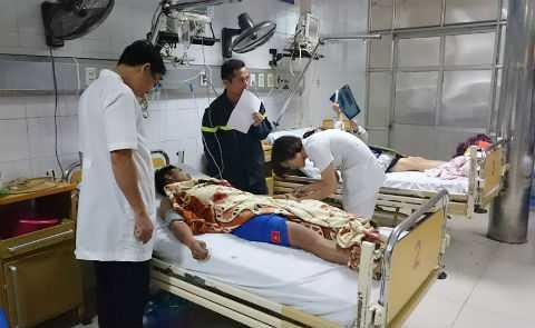 Cháy chung cư CT4 Xa La, 30 người nhập viện