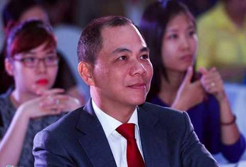 """Ông Phạm Nhật Vượng – Chủ tịch Tập đoàn Vingroup đã được Forbes ví như """"Donald Trump của Việt Nam""""."""