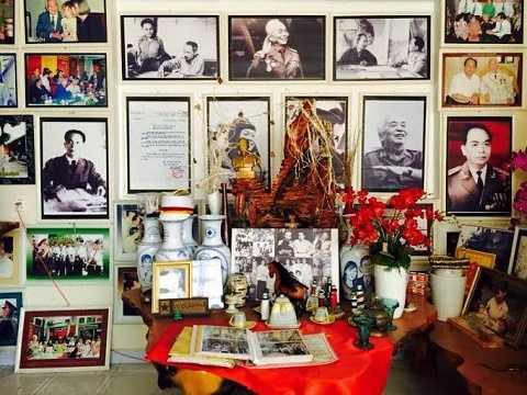 Các kỷ vật, hình ảnh của Đại tướng Võ Nguyên Giáp được lưu giữ cẩn thận tại Trung tâm. Ảnh: Phan Cường