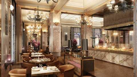 Nhà hàng sang trọng theo phong cách Châu Âu