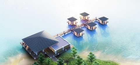 Phong cảnh thơ mộng giữa Vịnh Hạ Long