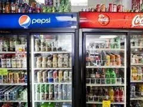 công ty Pepsi và công ty Coca-Cola
