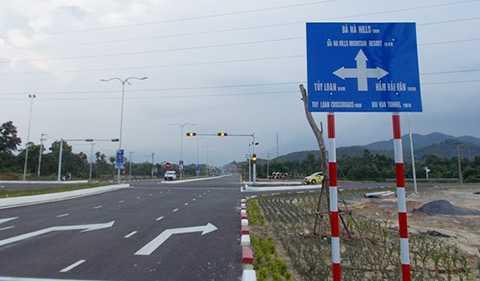Nút giao thông đường Bà Nà-Suối Mơ