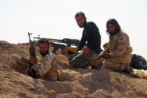 Các tay súng thuộc lực lượng nổi dậy ở Syria
