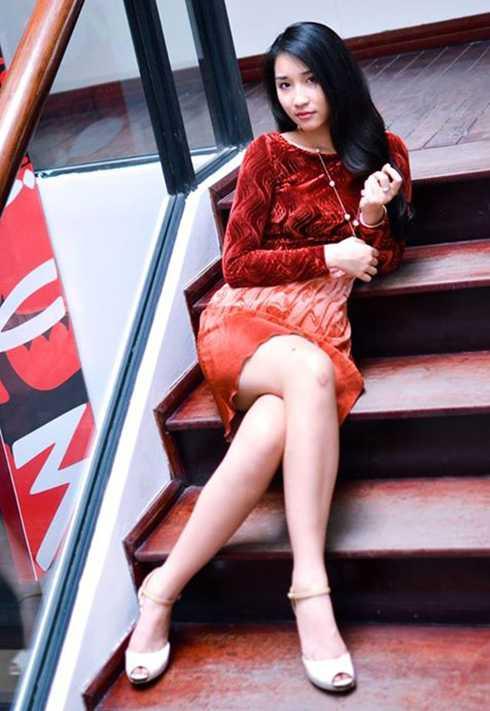Sinh năm 1996, Đặng Hoàng Phương đang theo học tại trường Pace University of Technology của Mỹ.