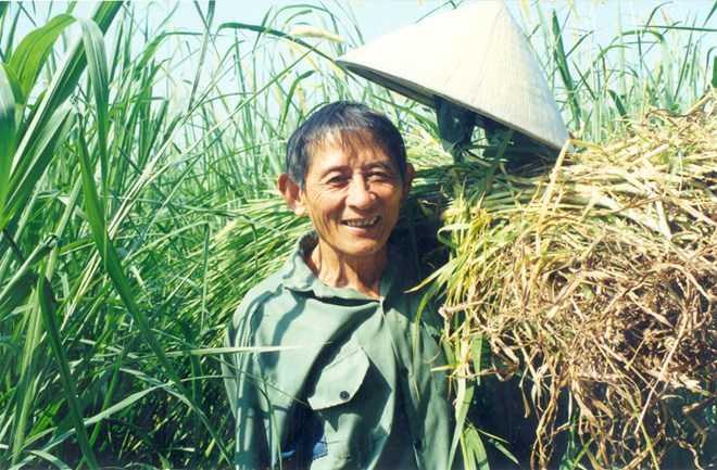 Anh hùng lao động Hồ Giáo - Ảnh: Trần Đăng