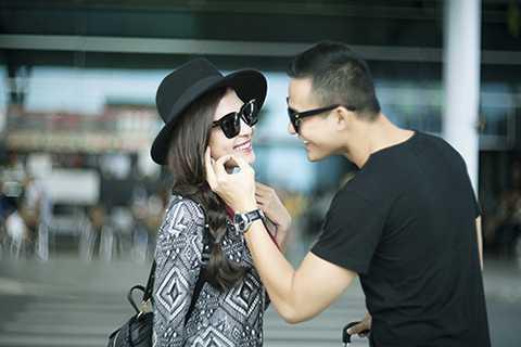 Nam tài tử điển trai khiến nhiều người ngưỡng mộ bởi sự chu đáo của anh dành cho vợ tương lai.